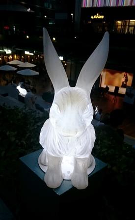 電灯ウサギ